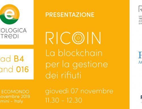 Ecomondo Presentazione Ricoin